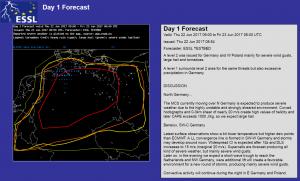 day 1 forecast level 2